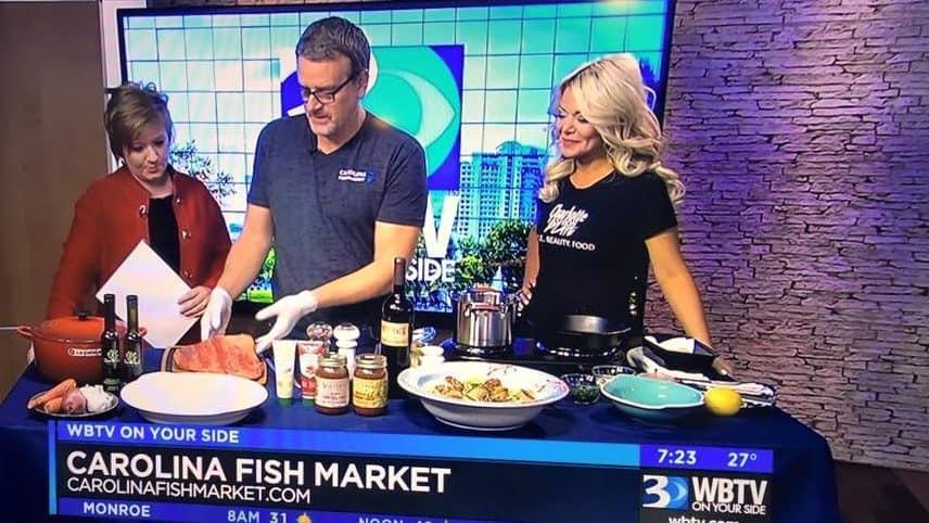 WBTV WITH THE CAROLINA MEAT & FISH CO ! - Charlotte Fashion