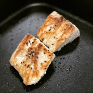 fish grilling for fish tacos