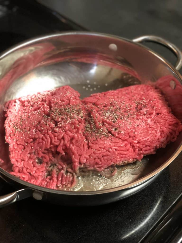 ground meat for sloppy joes