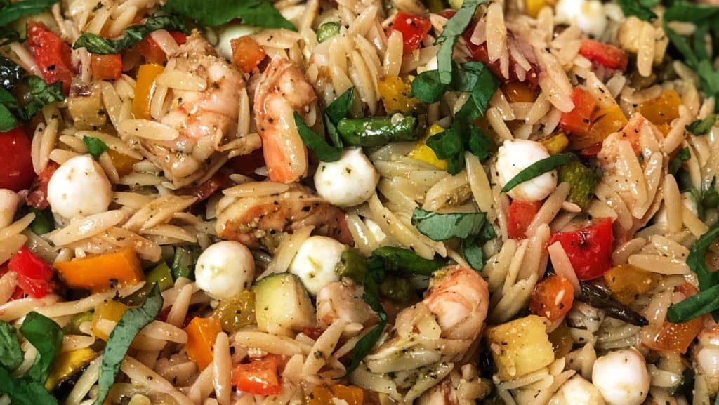 shrimp and orzo pasta