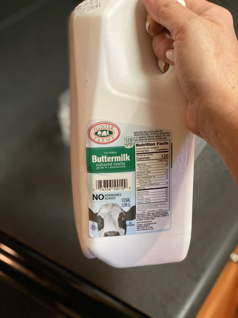 half gallon of buttermilk