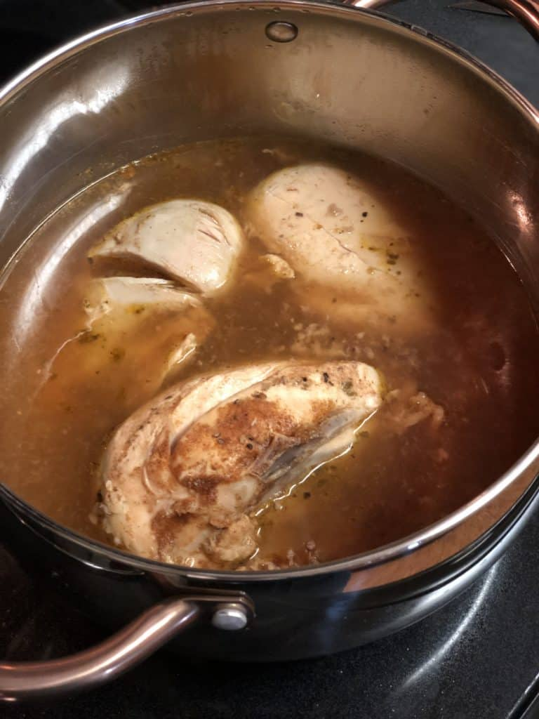 Chicken poaching