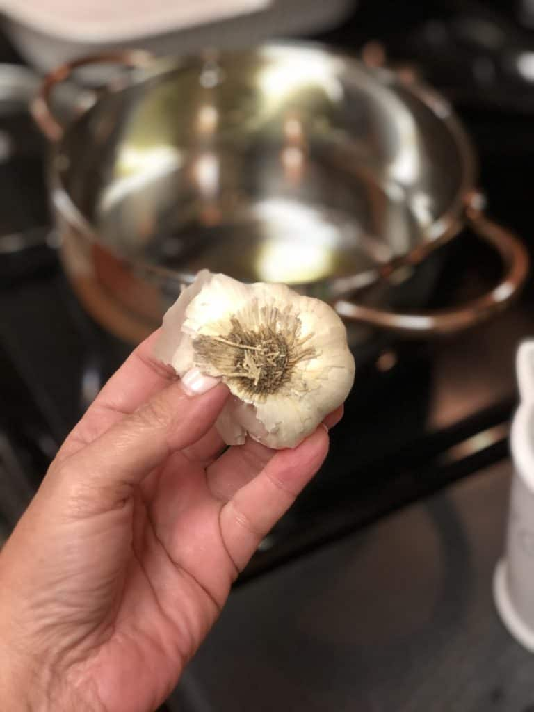 garlic for Mexican rice