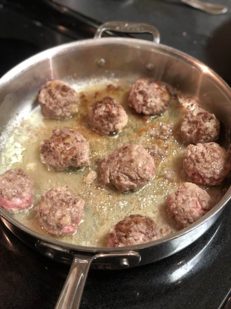 meatballs for Swedish meatballs