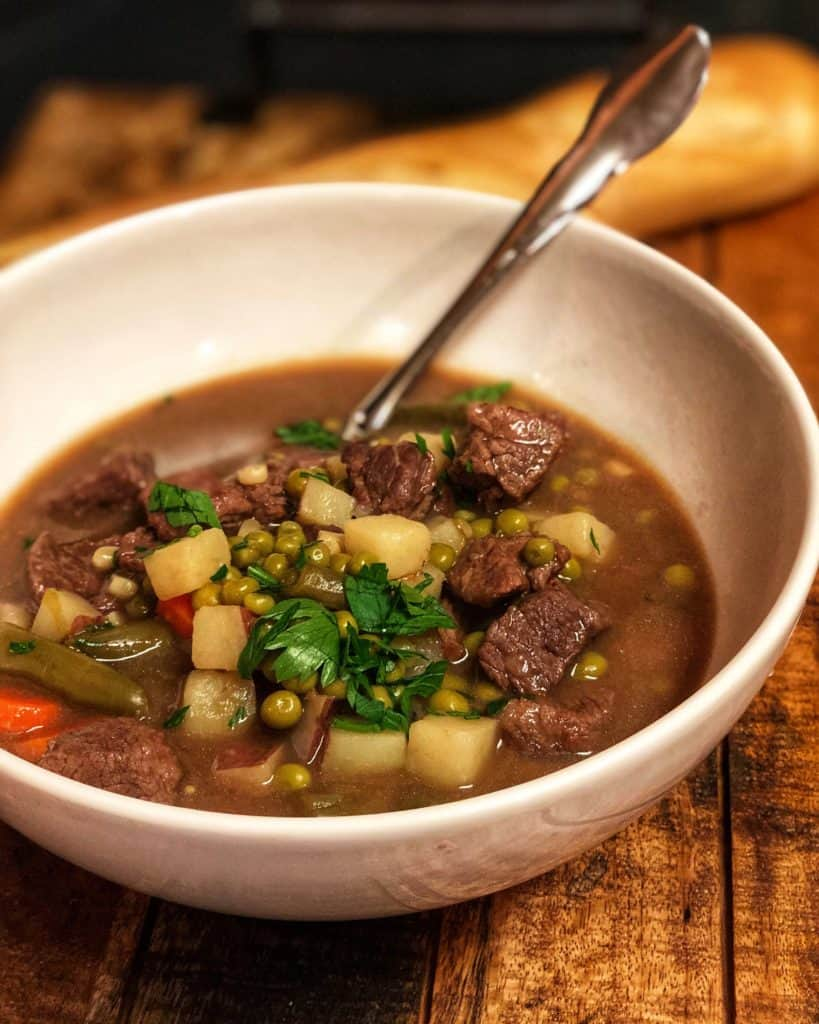A big bowl of Hearty Beef Stew