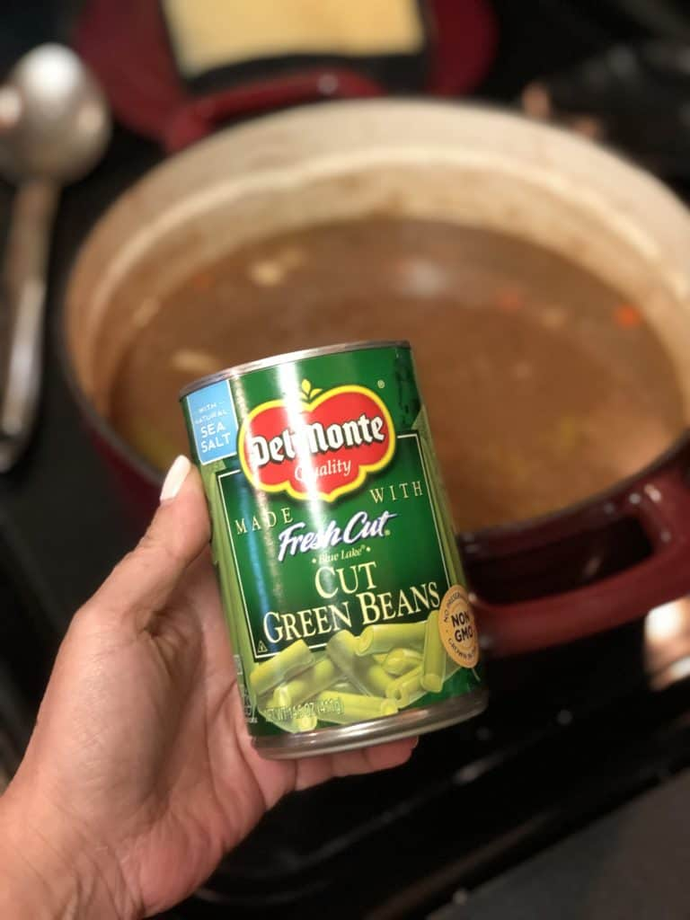 a can of green beans