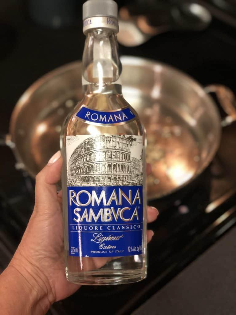 Bottle of Sambuca