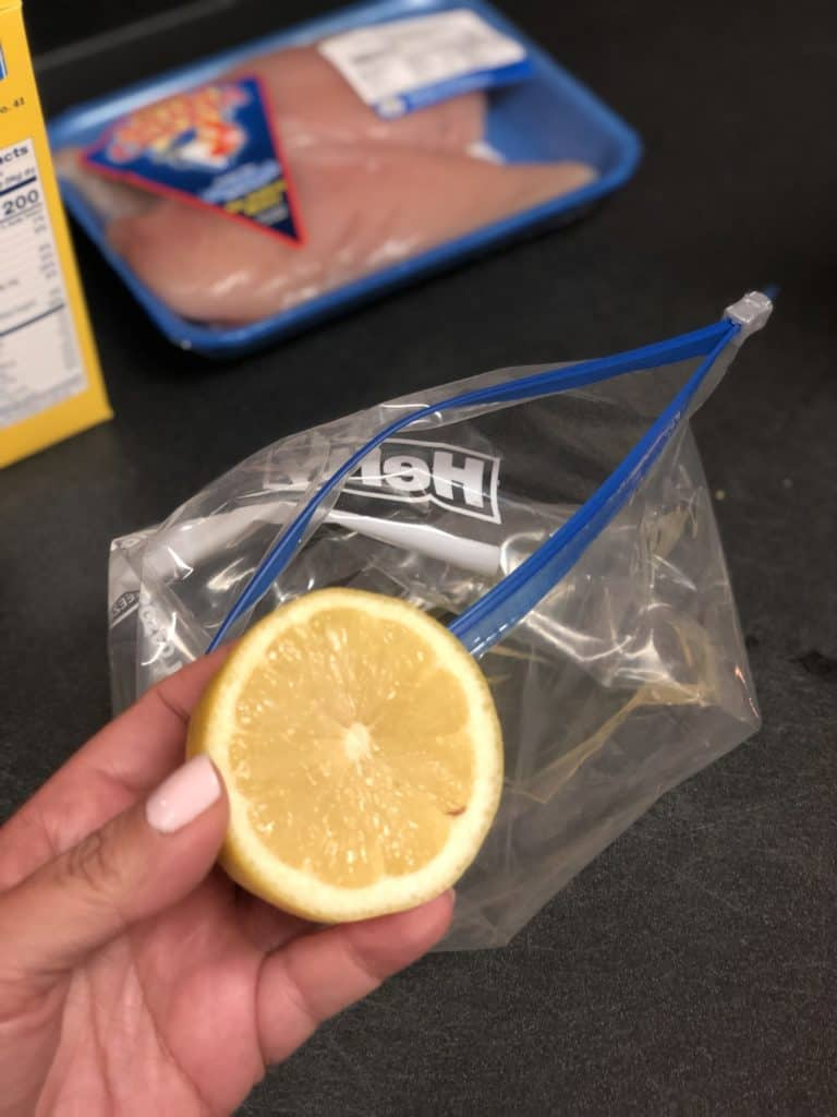lemon for marinade