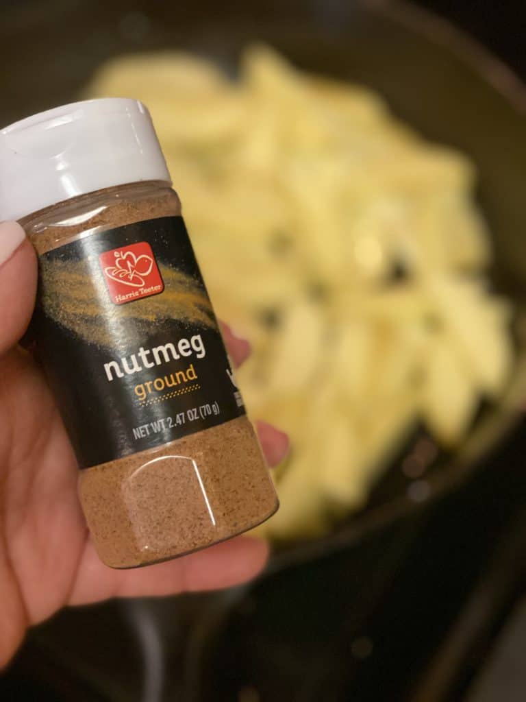 a bottle of nutmeg