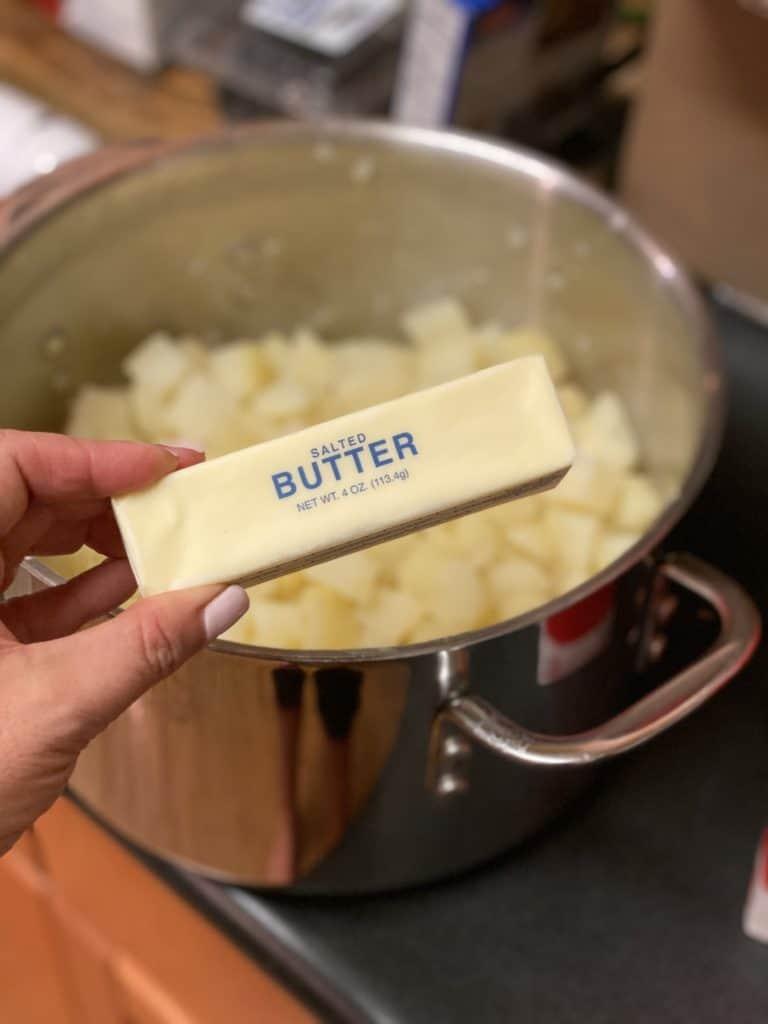a stick of butter