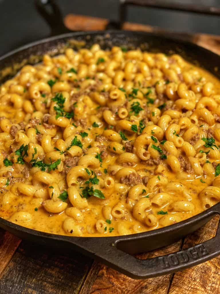 Cheeseburger Hamburger Helper