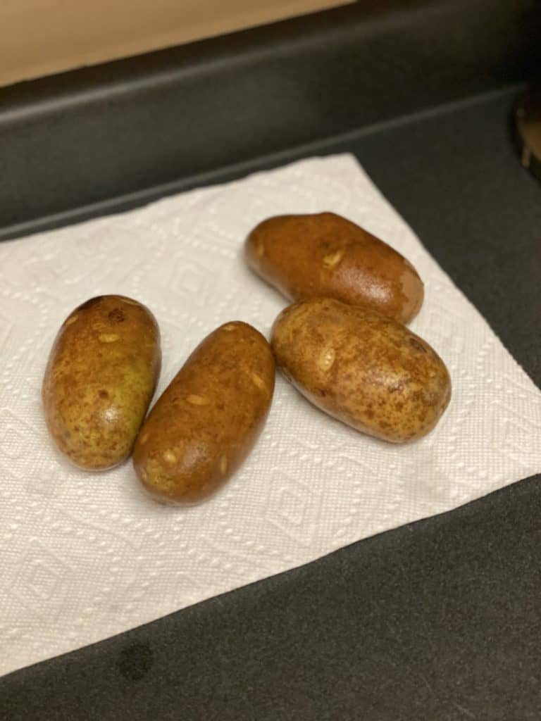 four idaho potatoes