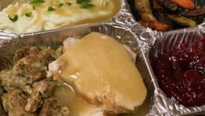 a Thanksgiving TV dinner