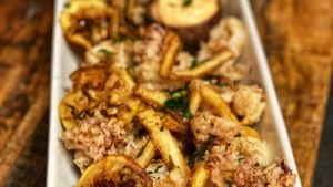 a plate of Fritto Misto