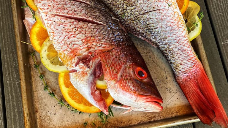 stuffed whole fish for grilling