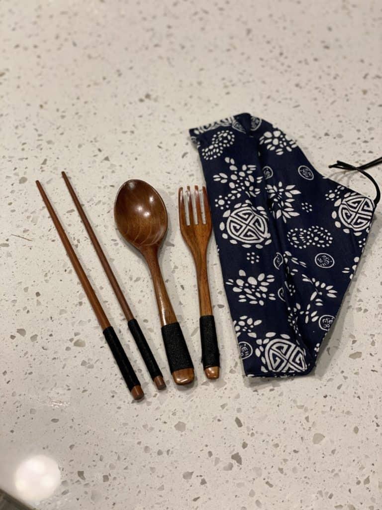 Japanese utensil set